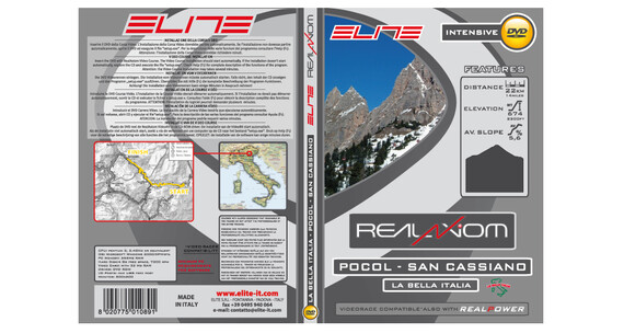 Elite DVD Pocol-San Cassiano Real Axiom / Real Power